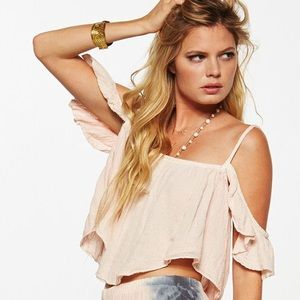 Jen's Pirate Booty Cold Shoulder Top